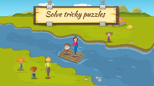 River Crossing IQ Logic Puzzles & Fun Brain Games  screenshots 11