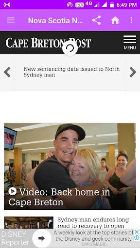 Nova Scotia Daily Newspapers 1.0 screenshots 4