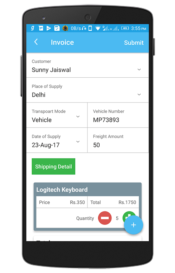 UltraGST - Billing Software - Free GST App- screenshot