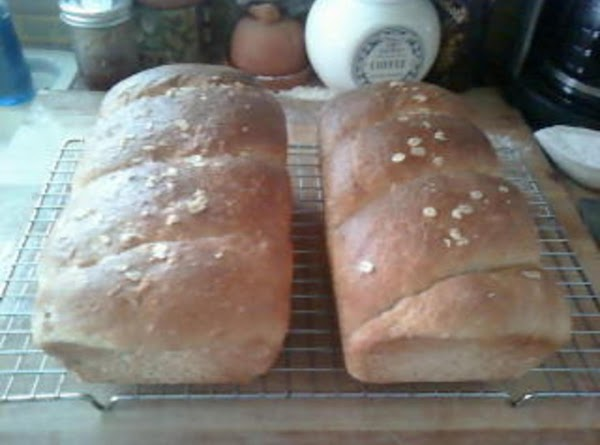 "Place in two (2) 9x5 loaf pans and allow to rise until about 1""..."
