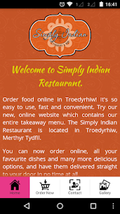 Simply Indian Restaurant- screenshot thumbnail