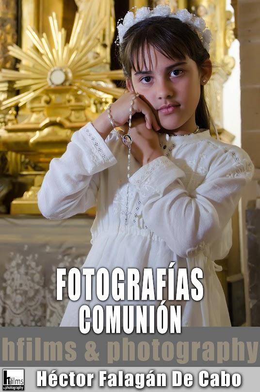 Fotografías de Primera Comunión