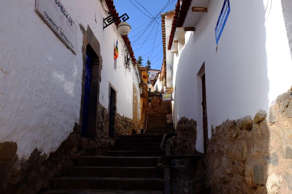 Uliczki Cusco