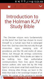 Holman KJV Study Bible - náhled