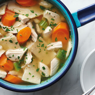 Southern Chicken and Dumpling Soup.