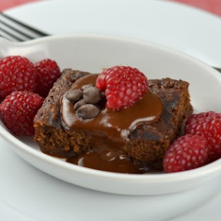 Vegan Chocolate Pudding Cake
