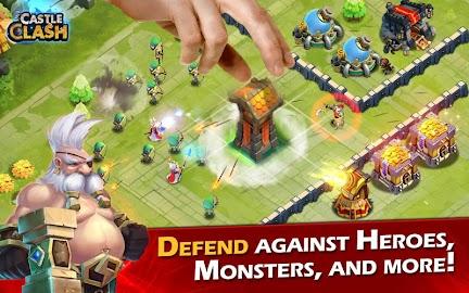 Castle Clash: Age of Legends Captura de pantalla 8