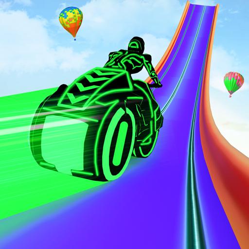 Baixar Mega Ramp Light Bike Stunts: New Bike Racing Games