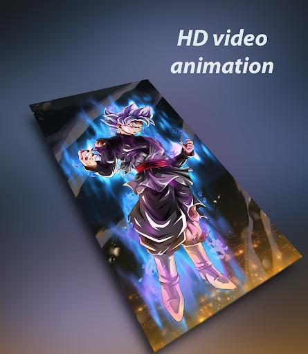 Anime live wallpaper (HD video) 1.1.9 screenshots 1