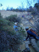 Photo: Working our way down the switchbacks