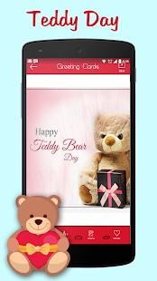 Teddy Day Greeting Cards Maker - náhled