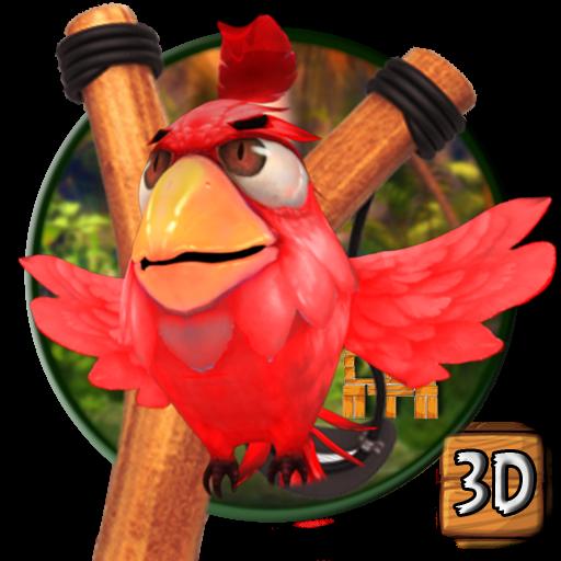 3d angry bird theme (app)