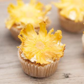 Easy Pina Colada Cupcakes.