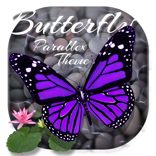 Beautiful Nature Butterfly Parallax Theme