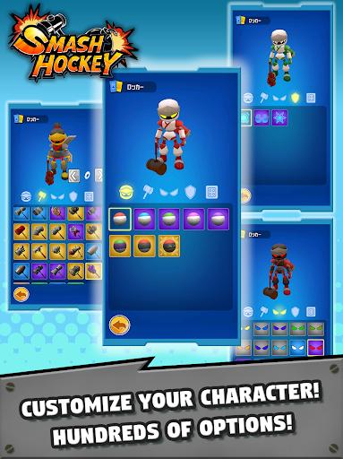 Télécharger SMASH HOCKEY APK MOD (Astuce) screenshots 3