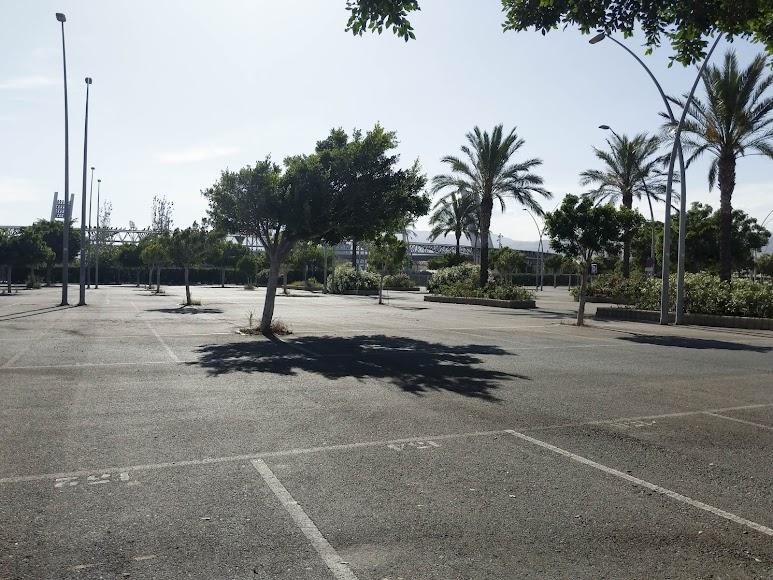 El parking.
