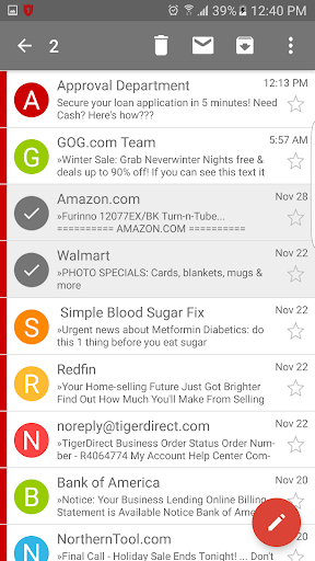 how to send email from gmail android