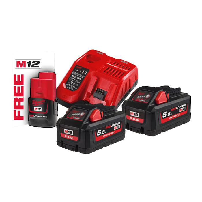 Milwaukee Batterikit M18™ HNRG-552