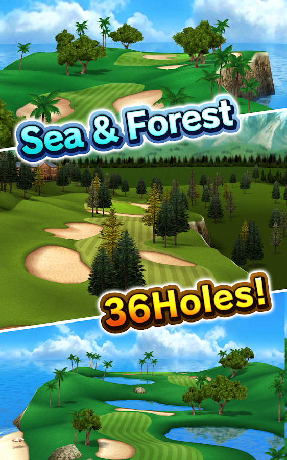 Golf Days:Excite Resort Tour- screenshot