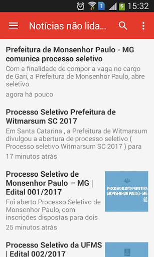 Agreega Concursos - SEM PROPAGANDAS screenshot
