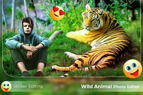 Wild Animal Photo Frames Wild Animal Photo Editor