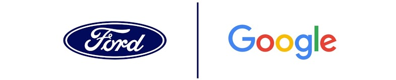 Ford and Google Logo