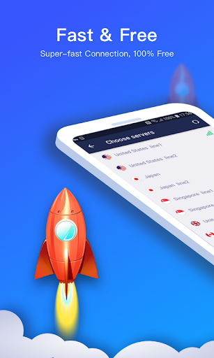 Connect VPN — Free, Fast, Unlimited VPN Proxy screenshot 1