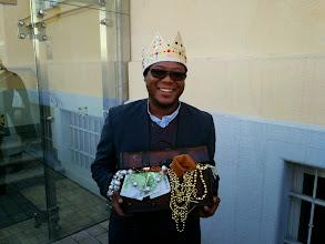 Photo: Jetzt ist er der König.