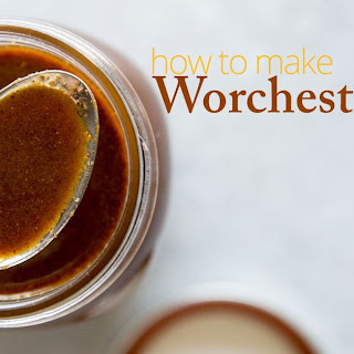Homemade Worcestershire Sauce.
