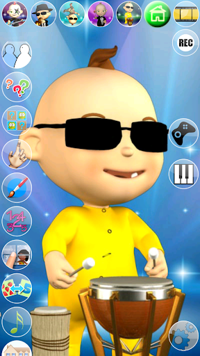 My Talking Baby Music Star 2.31.0 screenshots 14