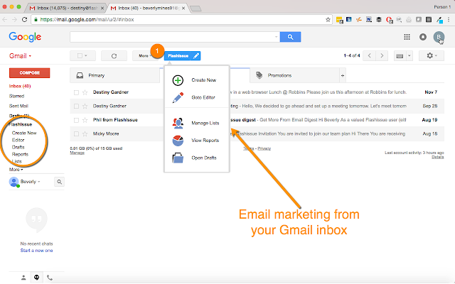 Newsletter Creator for Gmail - Flashissue
