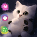 Lovely Cat and Panda v 1.1.3 app icon