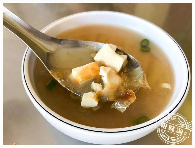 蔡台南肉粽味噌湯