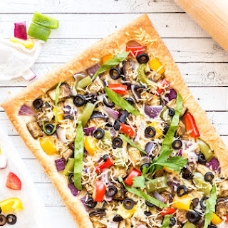 Vegetarian Puff Pastry Tart Recipes