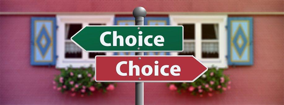Choice, Select, Decide, Decision, Vote