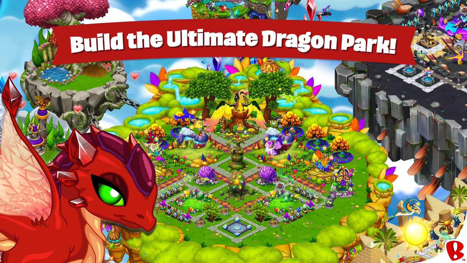 Screenshots of DragonVale for iPhone