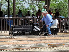 Photo: Engineer Gary Brothers.     HALS Public Run Day 2014-0419 DH3