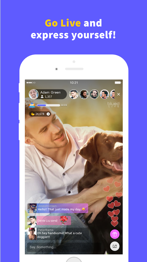 Blued - Gay Chat, Live, Social- screenshot