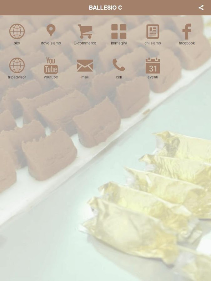 Ballesio Cioccolato- screenshot