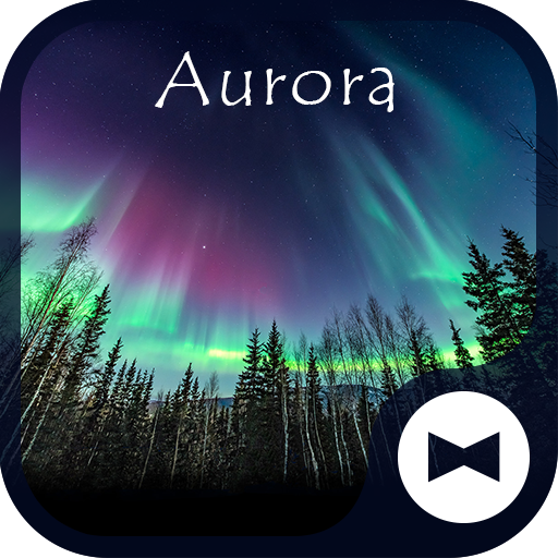 Beautiful Wallpaper AuroraTheme Icon