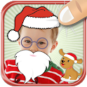 Merry Christmas Stickers - Happy New Year Collage icon