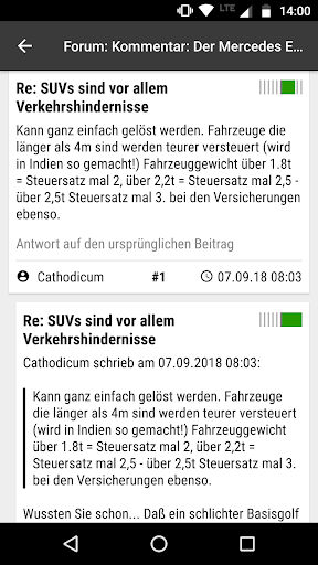 heise online - News 3.4.2 screenshots 6