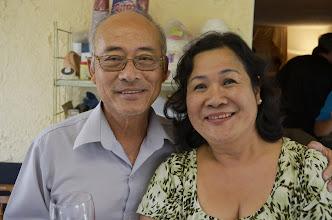 Photo: Thầy Phan thanh Nhuận và phu nhân, Mỹ là chủ nhà nơi Cao thắng tổ chức rất nhiều các kỳ họp mặt.   Xin thành thật cámơn sự hy sinh và thương yêu của anh chị.
