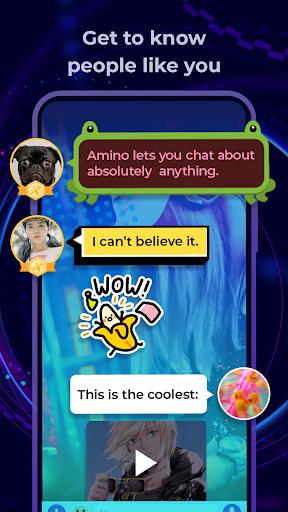 Amino: Communities and Chats 2.4.28468 screenshots 2