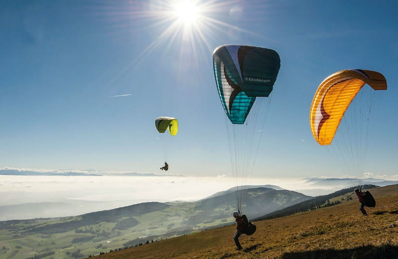 How do I learn to fly paragliders?