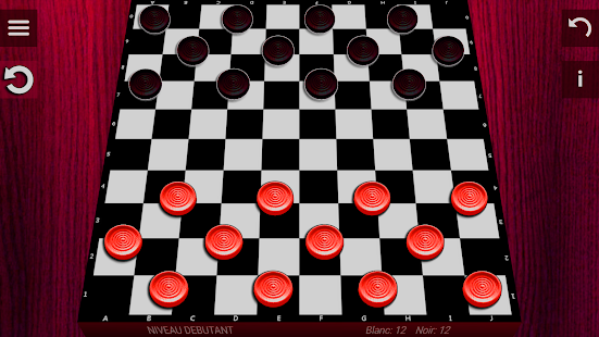 Dames (checkers) free - náhled