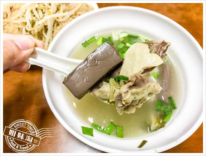 劉家豬血湯菜單綜合豬血湯