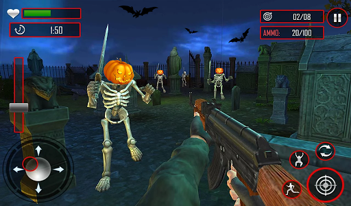 Zombie Night Party: FPS Shooting Game 2020 apkpoly screenshots 11