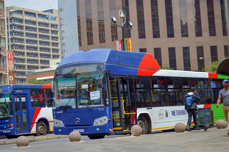 Metrobus is facing strike action by drivers in Johannesburg. File photo.