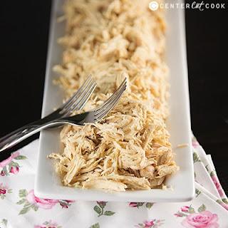 Easy Slow Cooker Shredded Chicken.